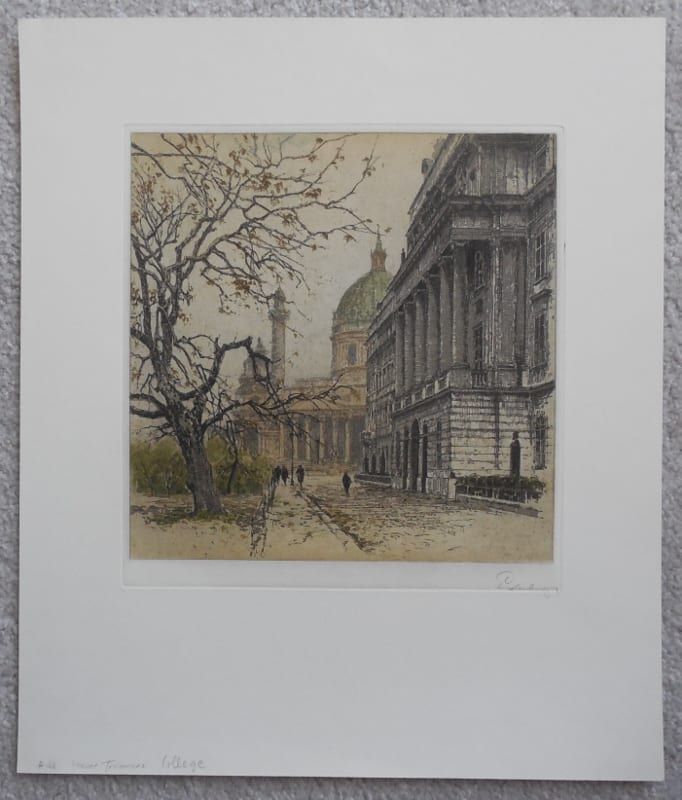 artist signed print